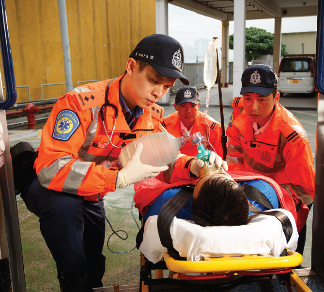 Having genuine care for the patients, ambulancemen serve each of them from the bottom of their heart.