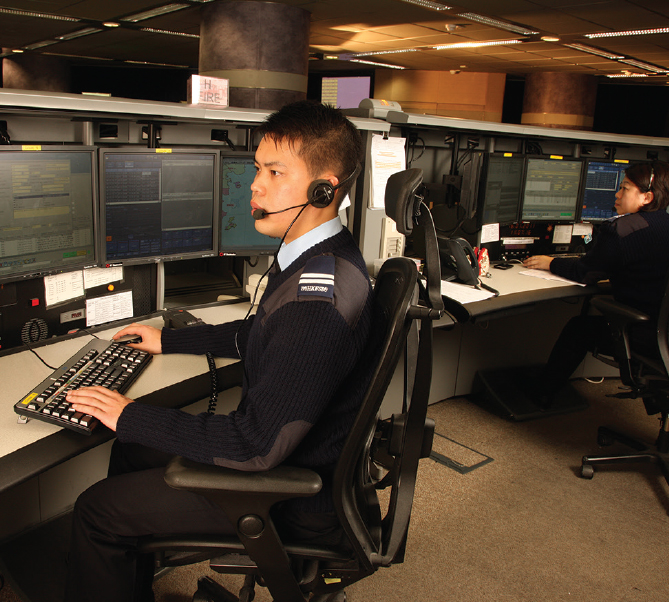 The Fire Services Communications Centre, manned round the clock, is responsible for mobilising resources in emergencies to conduct firefighting and rescue missions, and provide ambulance services.