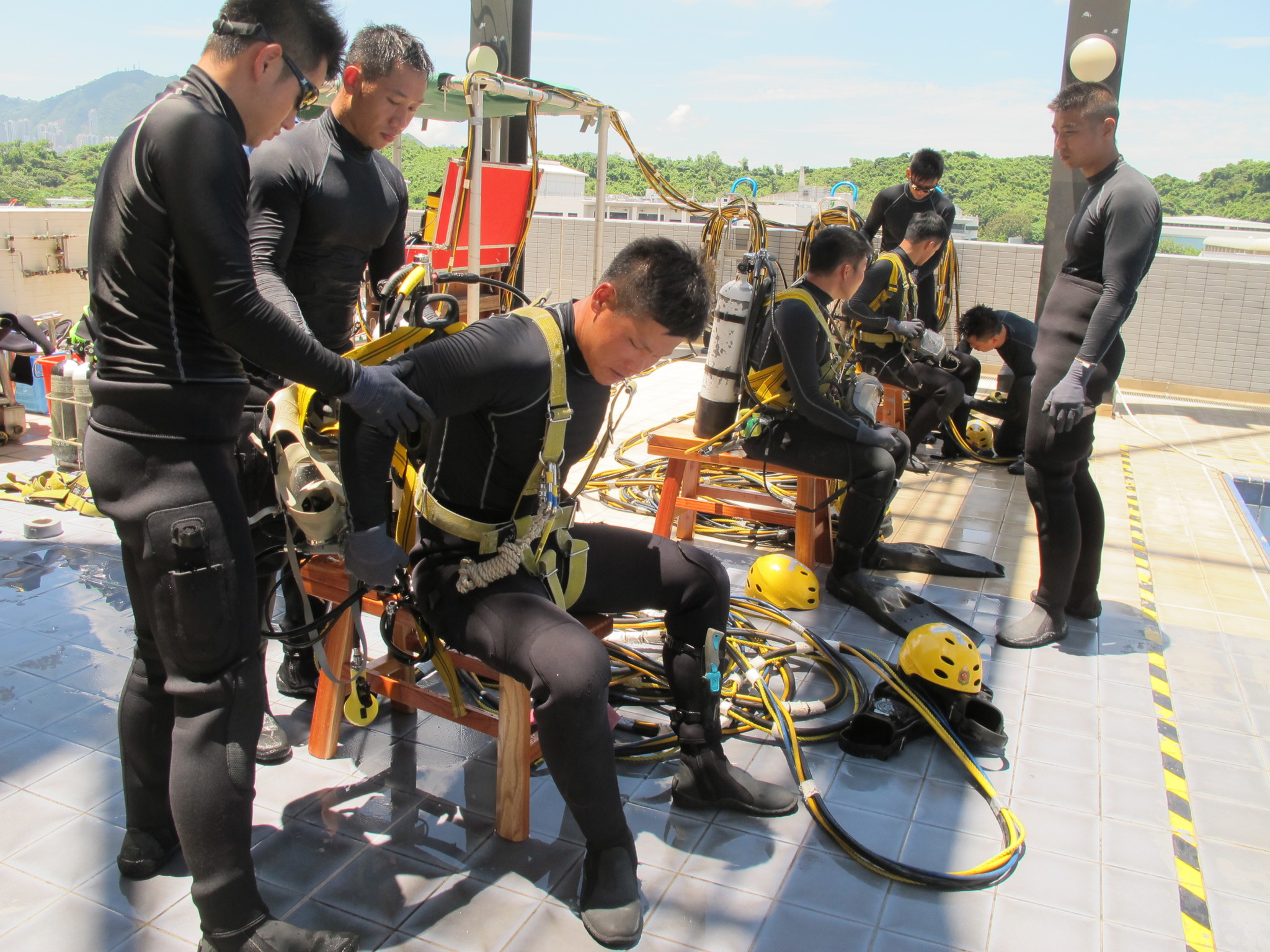 SRT members need to go through rigorous training to develop specialist skills and understand the high risks of their missions within a hyperbaric environment.